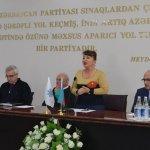 Празднование Пасхи и выборы руководства районной организации в Низаминском районе г.Баку